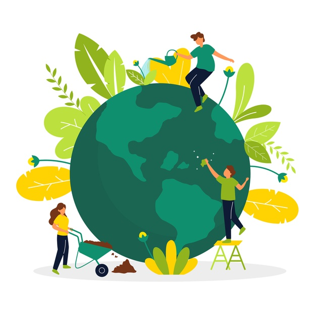 What are the examples of Greentech and explain how it is of great help to the environment?