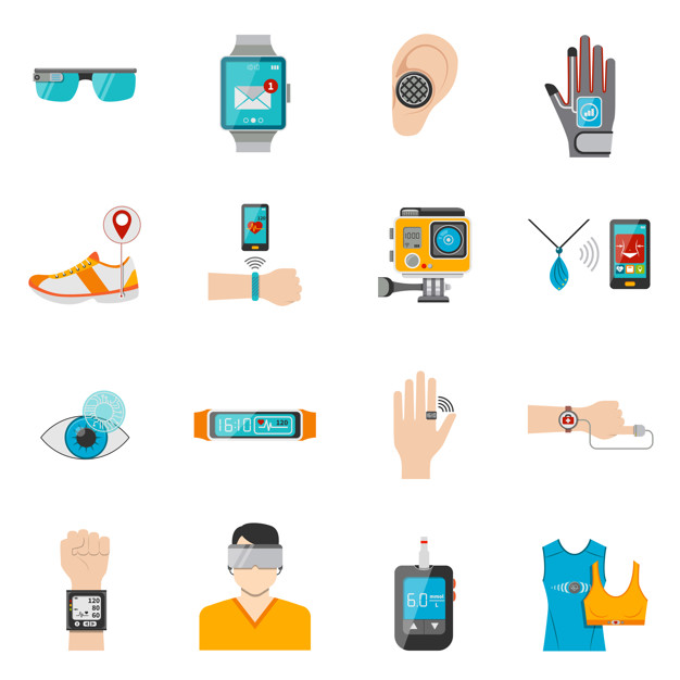 Where wearable technology is used?